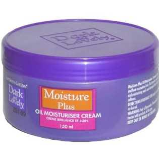 Dark and lovely Moisture Plus Oil Moisturiser Cream 150ml