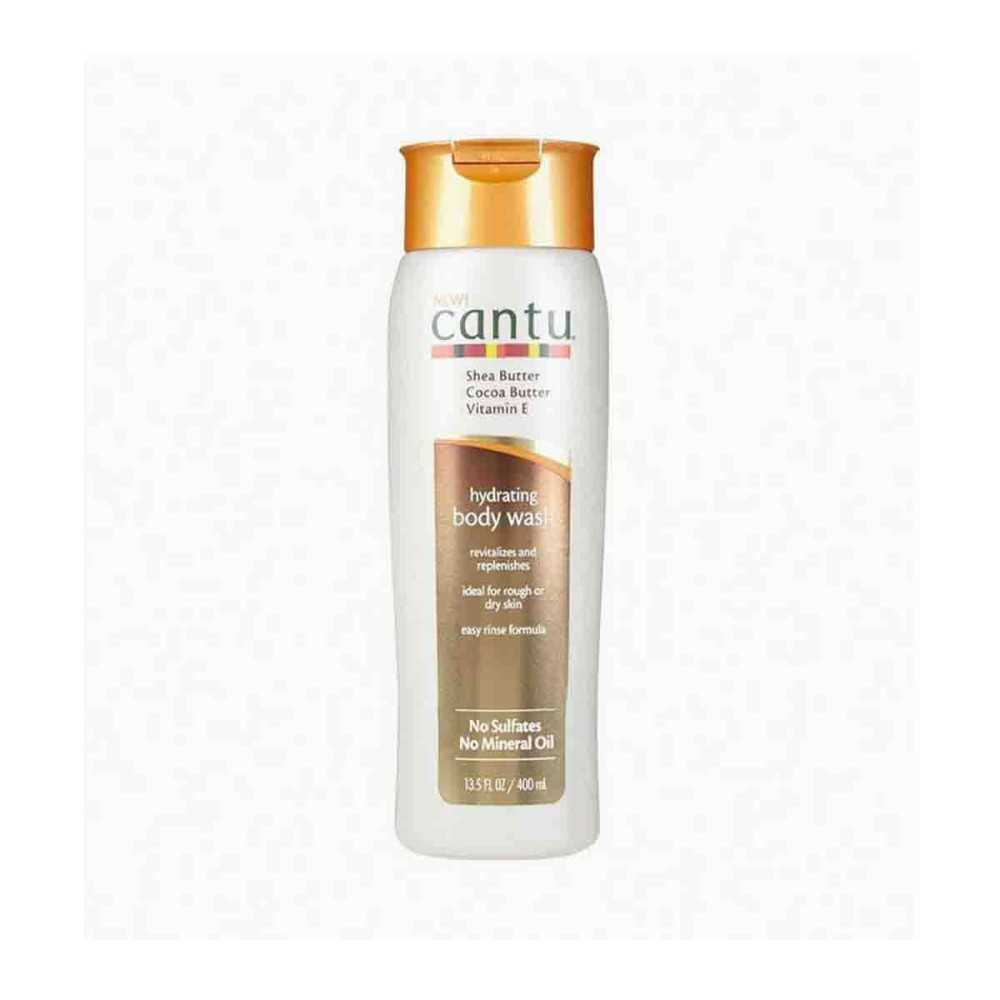 Lait hydratant corporel hydrating body wash Cantu 400 ml