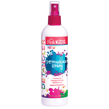 Spray démêlant hydratant Luster's Pink Kids 355ml