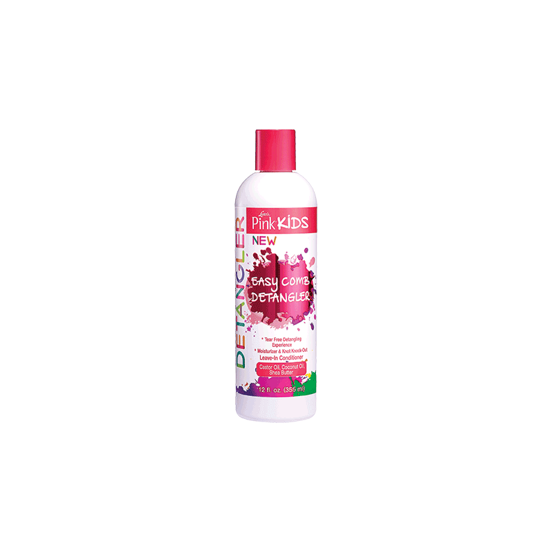 Démêlant pour peigne Easy Luster's Pink Kids 355ml