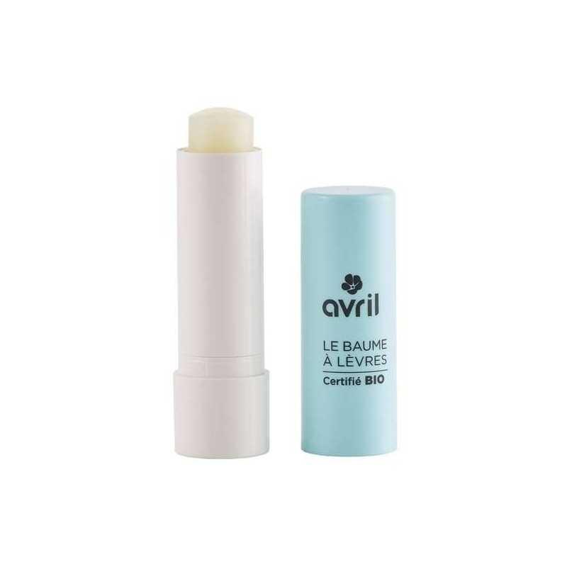 Baume à lèvres au beurre de karité certifié bio - Avril