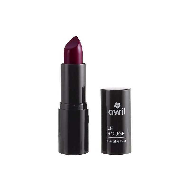 Rouge à lèvres rouge Grenat 635 certifié Bio - Avril