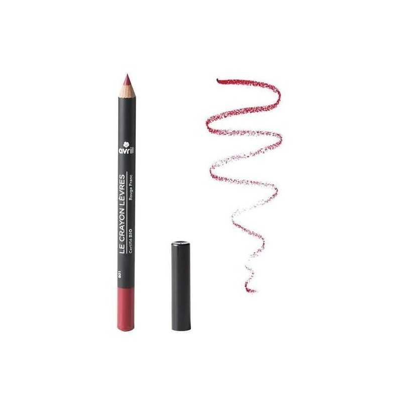 Crayon contour des lèvres Rouge Franc certifié Bio - Avril