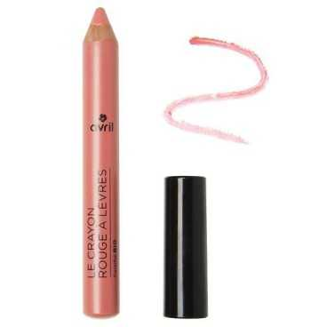 Crayon Rouge à lèvres Bois de Rose certifié Bio - Avril