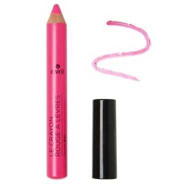 Crayon Rouge à lèvres Rose Bonbon certifié Bio-Avril