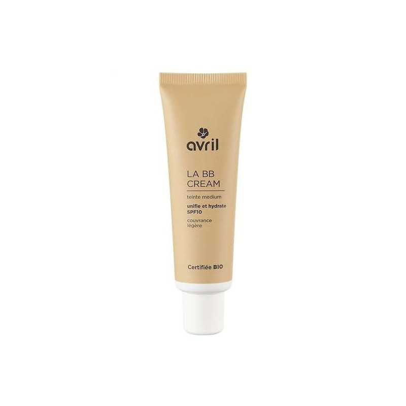 BB Cream Medium SPF 10 certifié Bio-Avril 30ml