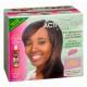 Kit Défrisant sans Soude aux Plantes Normal Cheveux de Texture Moyenne Hair Defense System