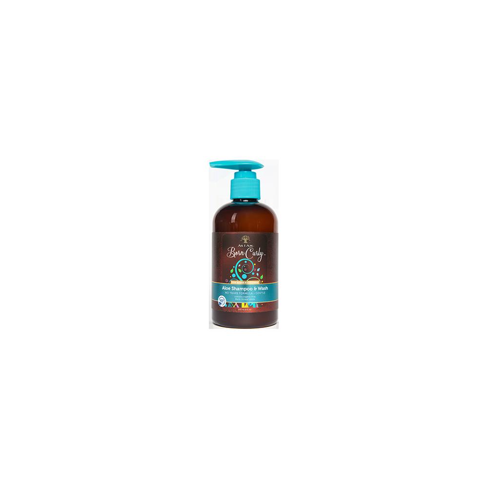 Shampooing et lavage à l'aloès