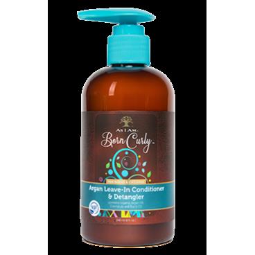 Après-Shampoing à l'huile d'argan sans rinçage pour enfants As I AM Born Curly