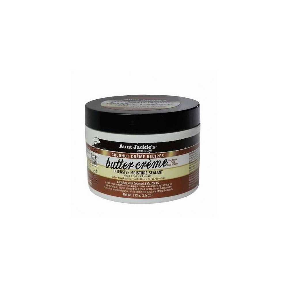 Crème hydratante intense Butter Crème Aunt Jackie's Curls and Coils