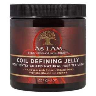 COIL DEFINING JELLY Gelée Coiffante cheveux crépus et frisés AS I AM
