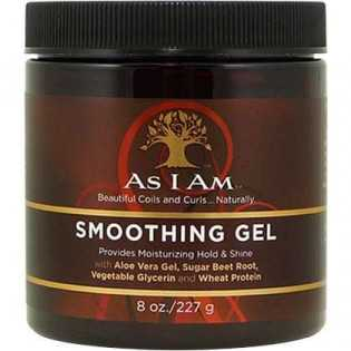 GEL HYDRATANT ET ADOUCISSANT LISSANT SMOOTHING GEL AS I AM 227 G