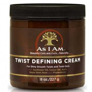 Crème coiffante pour Twists AS I AM Twists Defining Cream