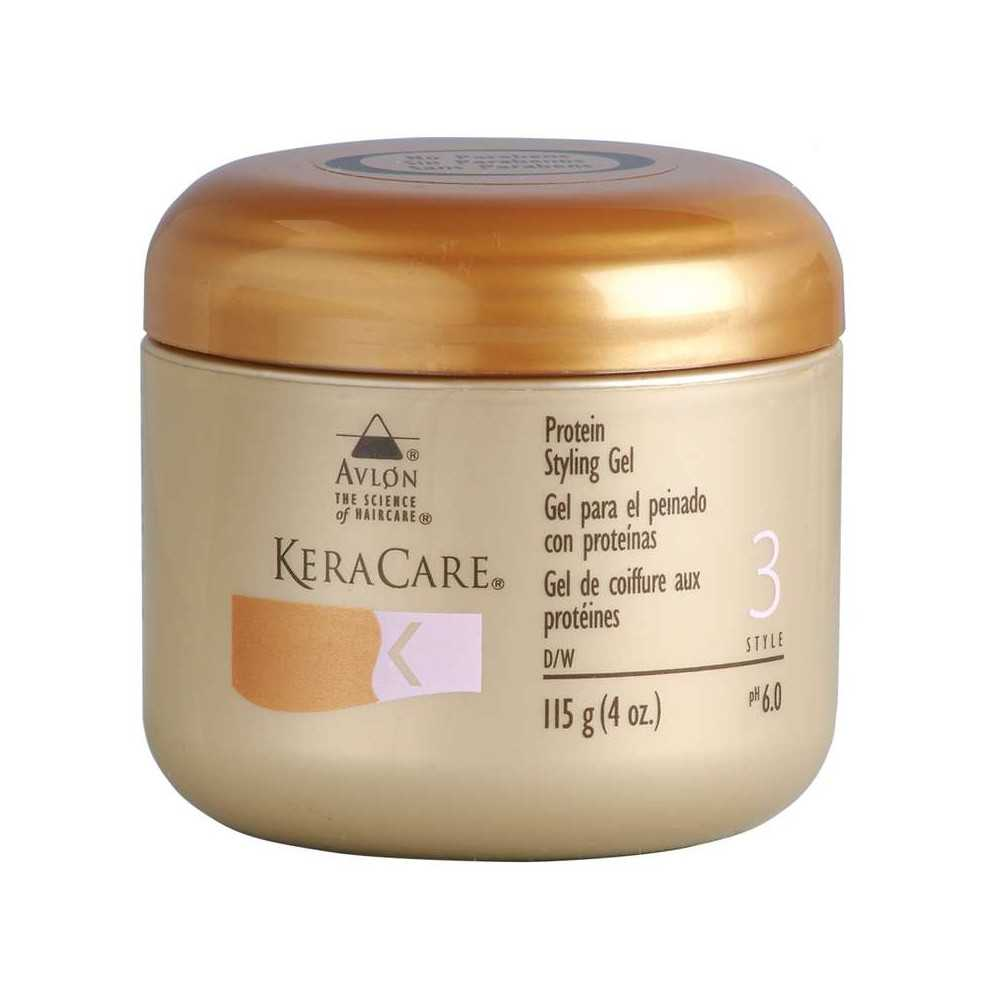 Gel de fixation coiffure KeraCare 115 g