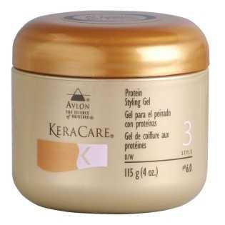 Gel de coiffure aux protéines KeraCare 115 g