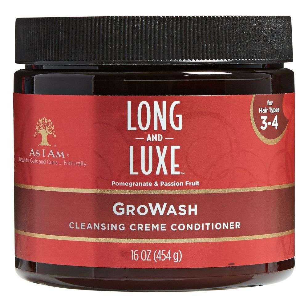 SOIN LAVANT CRÉMEUX GROWASH AS I AM 454 G