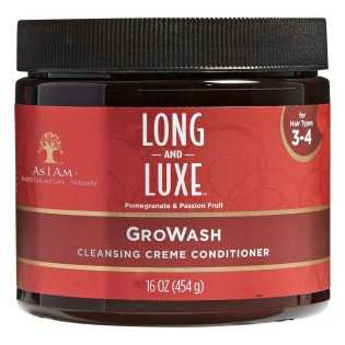 SOIN LAVANT CRÉMEUX GROWASH LONG AND LUXE AS I AM 454 G