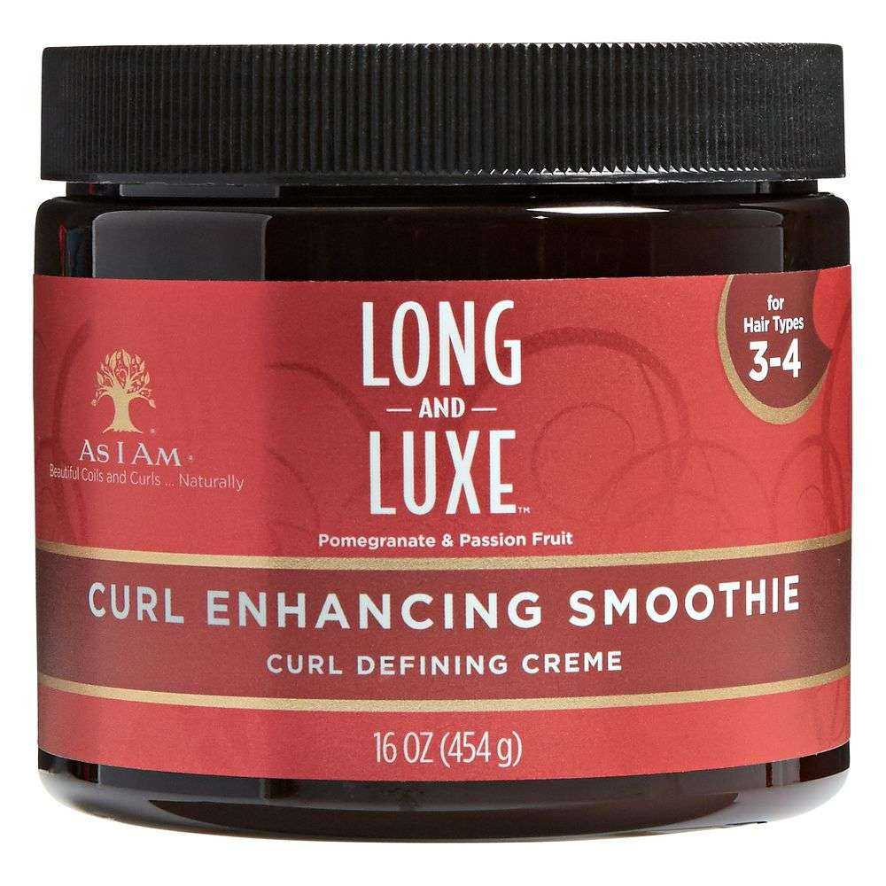 CRÉME DÉFINISSANTE DE BOUCLES CURL ENCHANCING SMOOTHIE LONG AND LUXE AS I AM 454 G