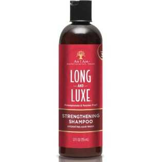 SHAMPOING HYDRATANT FORTIFIANT STRENGTHENING SHAMPOO LONG AND LUXE AS I AM 355 ml