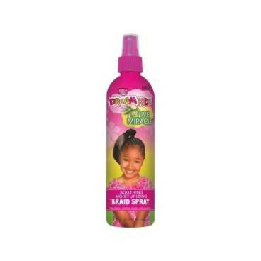 Spray apaisant hydratant African Pride Dream Kids Olive Miracle 355ml