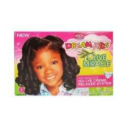 Kit défrisant pour enfants à l'huile d'olive African Pride Dream Kids Regular