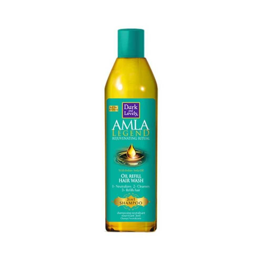 Shampoing neutralisant 3 en 1 Oil Refill Hair Wash Dark and Lovely AMLA Legend