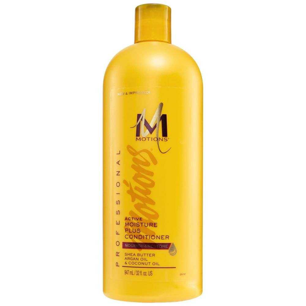 Après-Shampoing active hydratant Moisture plus conditioner MOTIONS 384 ml