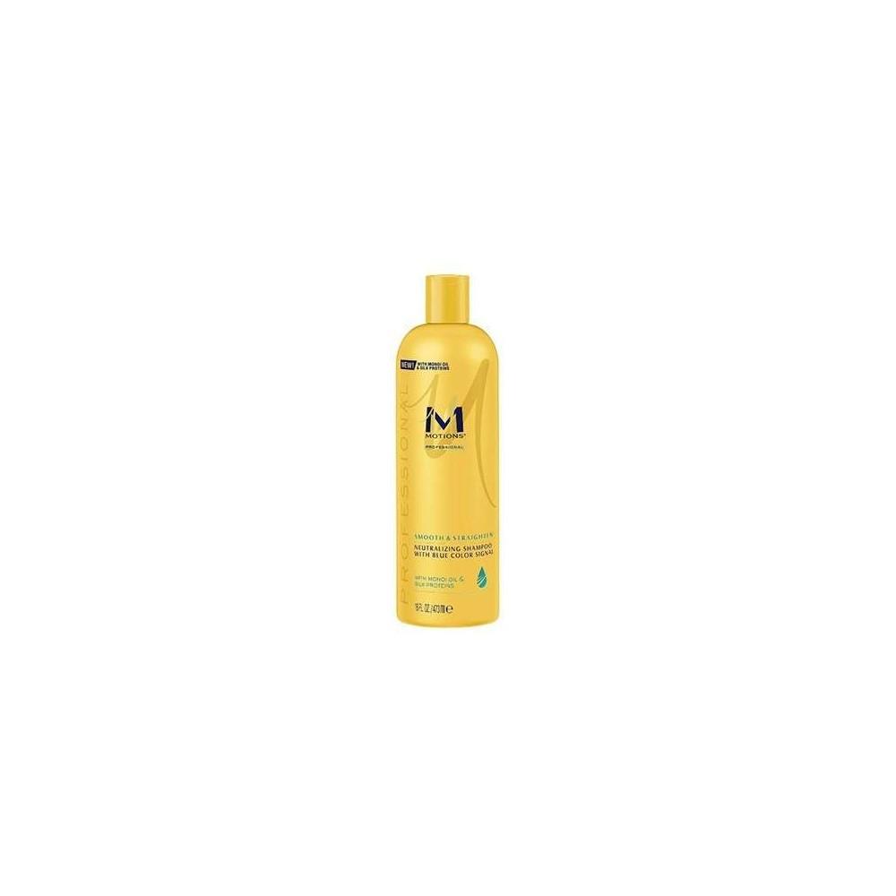 Shampoing neutralisant avec signal de couleur bleue à l'huile de Monoï et de Proéines de soie