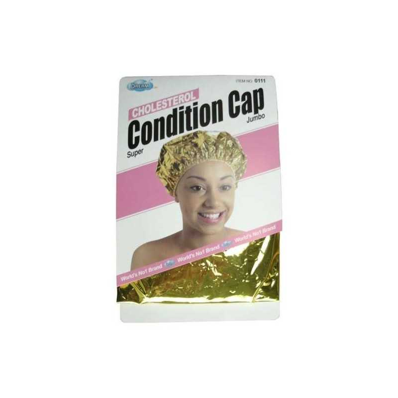 Bonnet auto-chauffant couleur OR Condition Cap Cholesterol DRE11