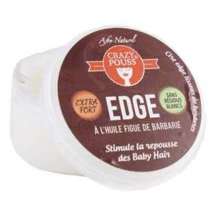 GEL EDGE À L'HUILE DE FIGUES DE BARBERIE CRAZY POUSS AFRO NATUREL 100 ml