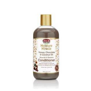 Après-shampoing revitalisant au Miel au Chocolat et Coco African Pride Moisture Miracle 354 ml
