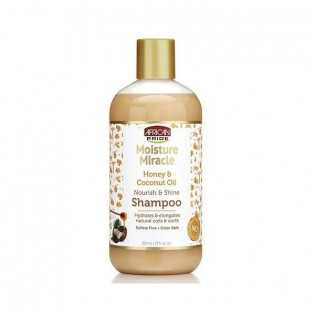 Shampoing au Miel et à l'huile de Coco AFRICAN PRIDE MOISTURE MIRACLE 354 ml