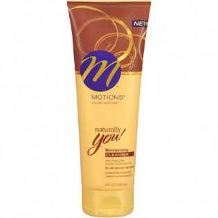 Shampoing hydratant au beurre de karité et à la noix de coco MOTIONS Naturally You 236 ml