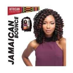MÈCHES AFRICAN COLLECTION JAMAICAN BOUNCE CROCHET BRAID SENSATIONNEL SYNTHÉTIQUE