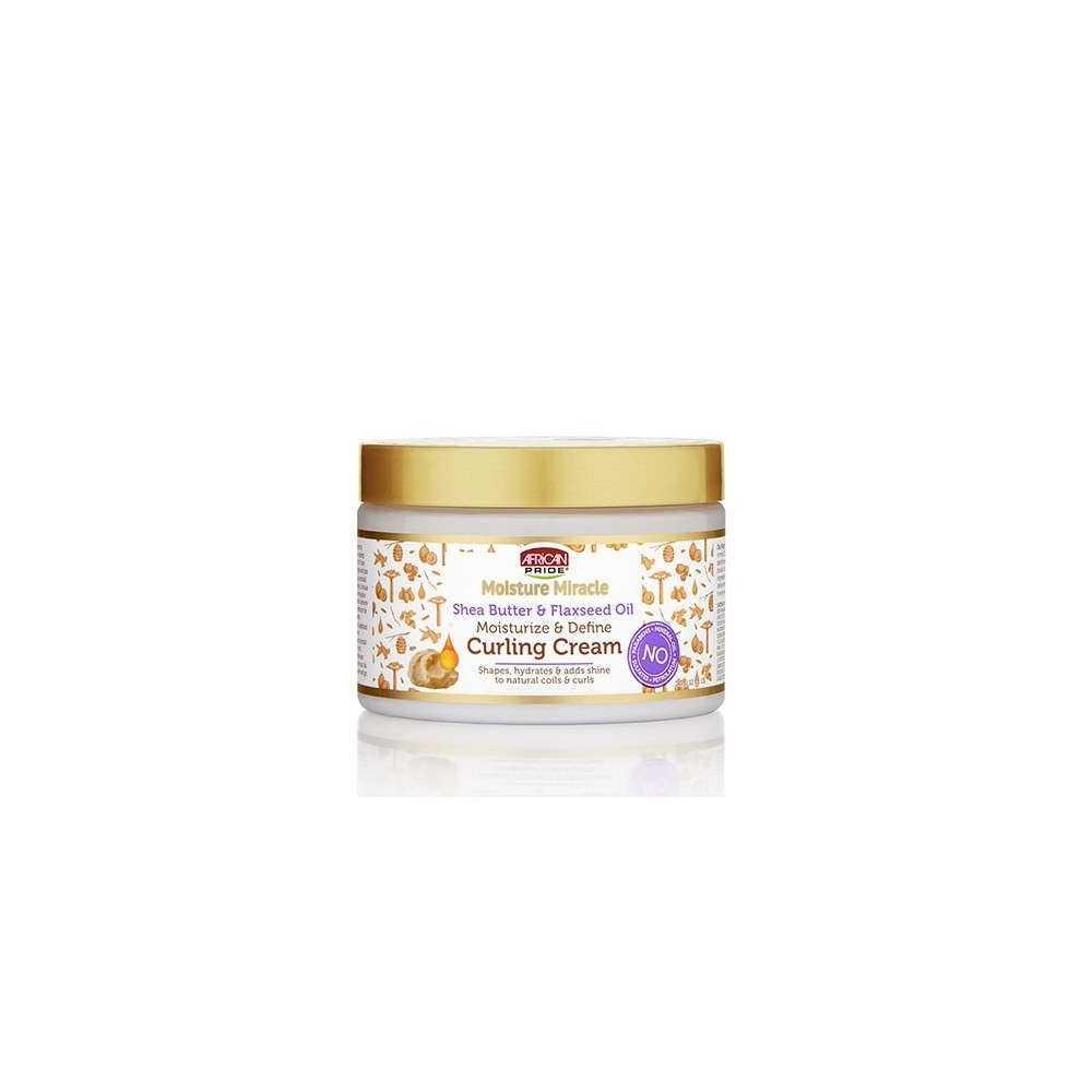 Crème coiffante pour Boucles - African Pride - Moisture Miracle 340 G