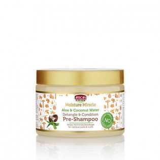 Pré-Shampoing - African Pride Moisture Miracle aux noix de Coco  et d'Aloe Vera 340g