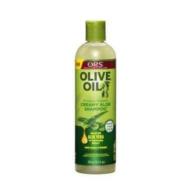 Shampoing crème à l'Aoe Vera et huile d'Olive Organic racine stimulateur 370 ml