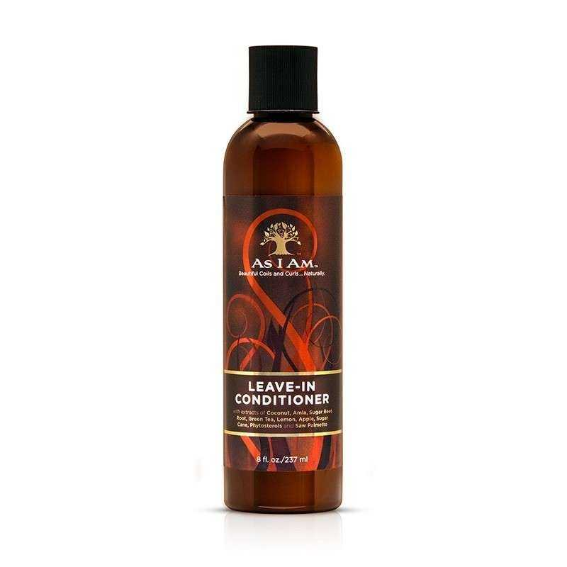 Après-Shampoing-Leave In conditioner AS I AM 237ml