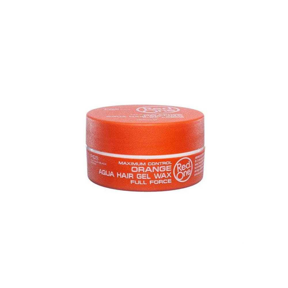 RED ONE Cire Capillaire Orange Aqua Hair Wax 150ml