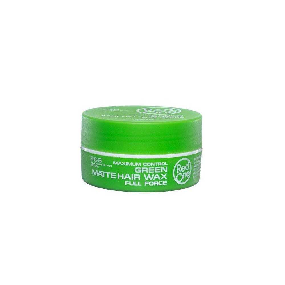 RED ONE Cire Capillaire Green Matte Hair Wax 150ml