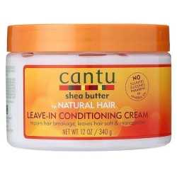 Après-Shampoing sans rinçage CANTU SHEA BUTTER NATURAL HAIR LEAV-IN-IN CONDITIONING CREAM 340g