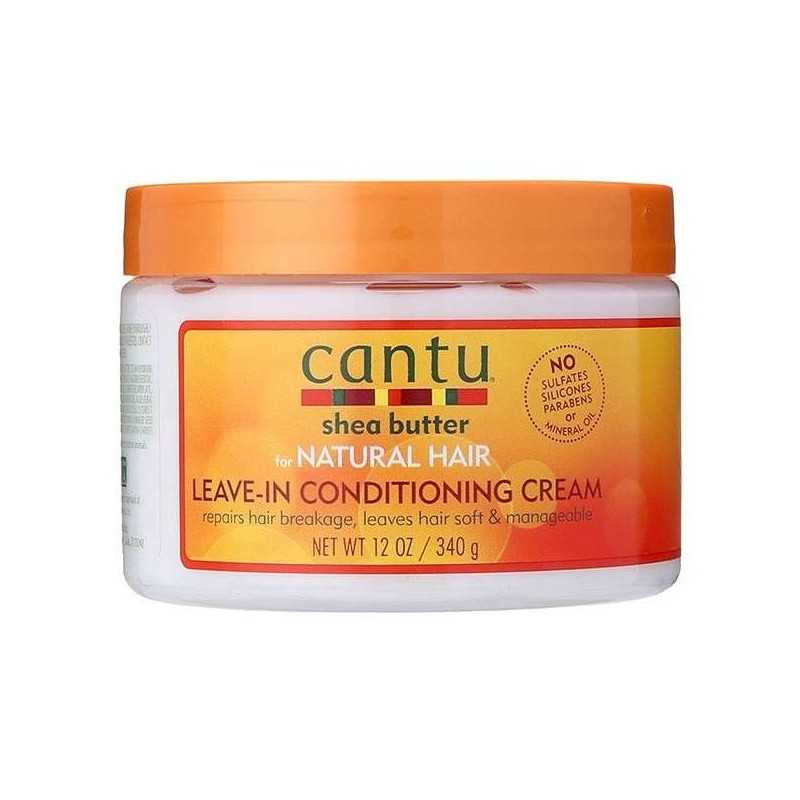 Après-Shampoing sans rinçage CANTU SHEA BUTTER NATURAL HAIR LEAVIN-IN CONDITIONING CREAM 340g