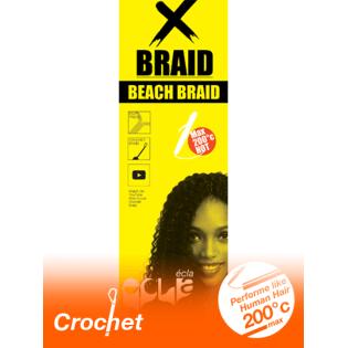 MÈCHES POUR TRESSER CROCHET BEACH BRAID 100% FIBRE FUTURA