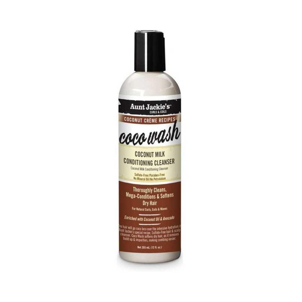 COCO WASH NETTOYANT REVITALISANT AU LAIT DE COCO AUNT JACKIE'S 355ml
