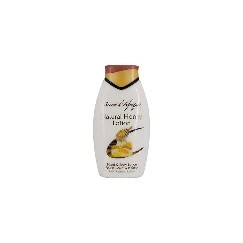 Lotion pour les mains et le corps SECRET D'AFRIQUE NATURAL HONEY 500ml