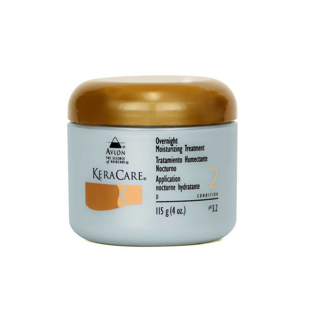 Soin application nocturne hydratante KeraCare 115ml