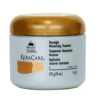 Soin traitement application nocturne hydratante KeraCare 115ml