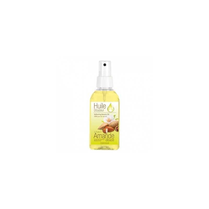 Huile Douceur à l'huile Amande Douce corps et cheveux PRÉPHAR 100 ml