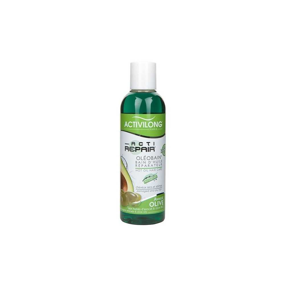 Bain d'huile réparateur à l'olive et avocat bio Activilong Activilong 200ml