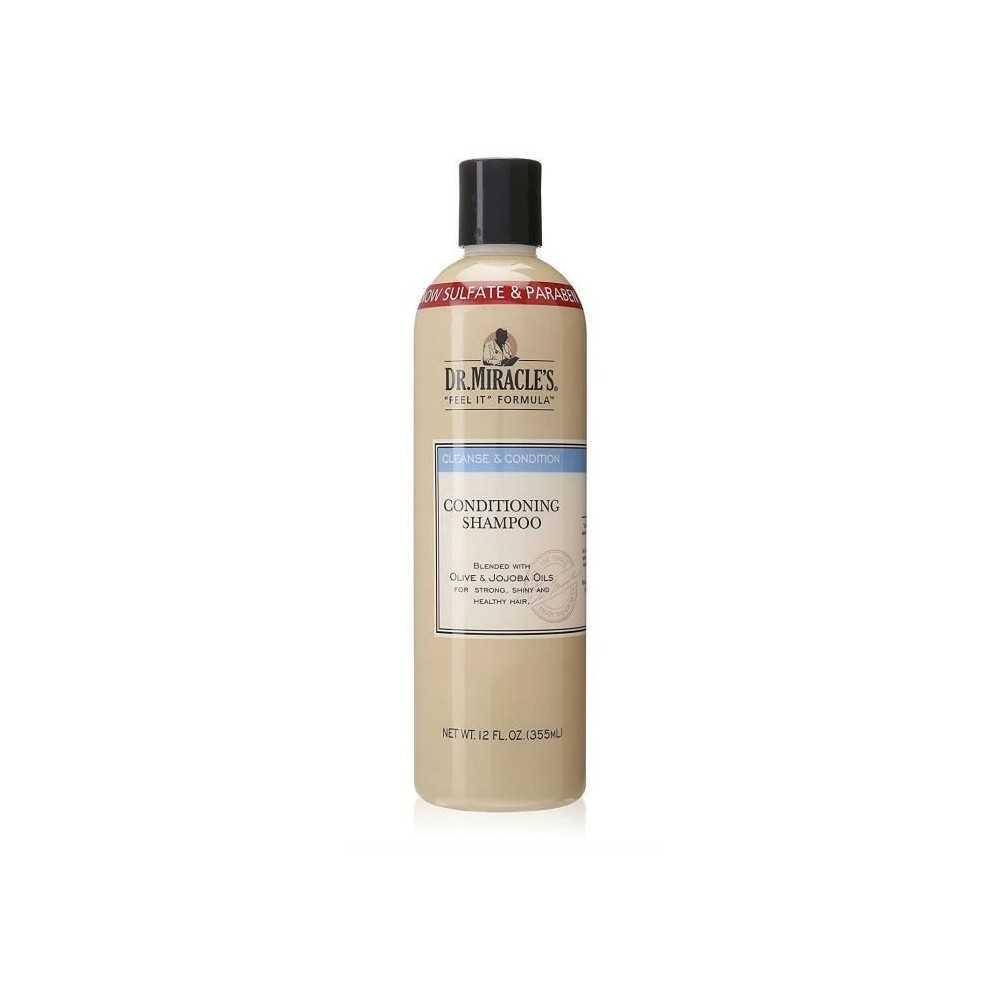 Shampoing révitalisant Olive et Jojoba Dr Miracle's 355ml